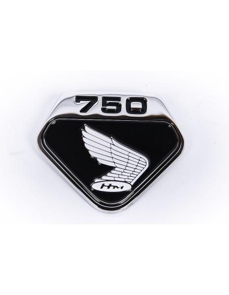Jeu de logos cache lateraux CB750K0 fond noir