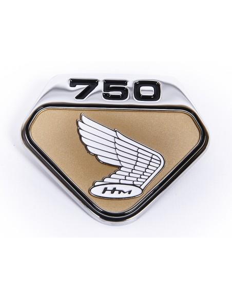 Jeu de logos cache lateraux CB750K0 fond GOLD
