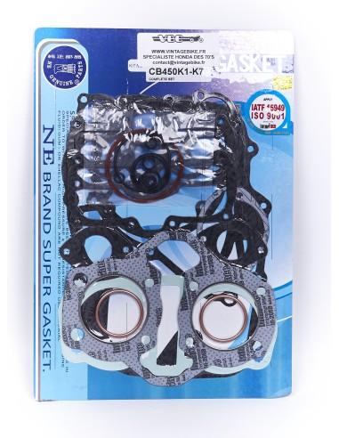 Pochette de joints moteur complète CB 450 K1-K7