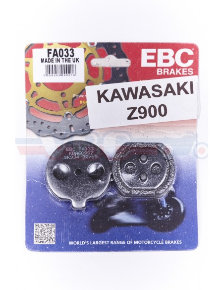 Plaquettes de frein Kawasaki Z 900 Z900 H1 H2 S2 S3 Suzuki Gt 125-750
