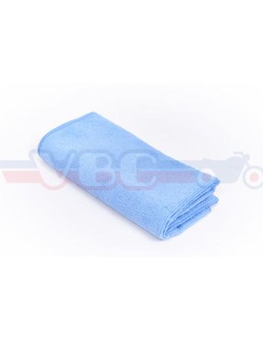 Chiffon Micro-Fibre Tricot Soft 40 x 40 cm bleu