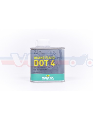Liquide de frein MOTOREX DOT 4 250ml
