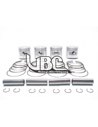 Kit 4 pistons en STD  500 four