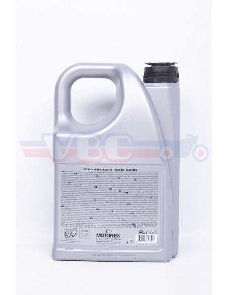 Bidon d'HUILE 20w50 semi-synthèse MOTOREX ( Synthetic Blend)