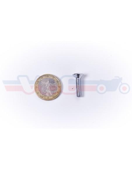 Vis tete fraisée cruciforme chromée 5x20 93700-050-200B