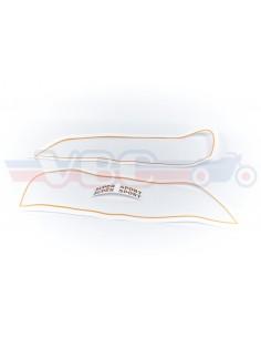 Kit decor autocollants CB 750 F1 pour réservoir ROUGE